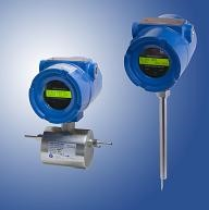 Flow sensors with integral electronics
